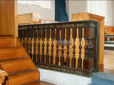 Semer workhouse altar rails 1